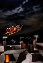 Santa Roof Tops