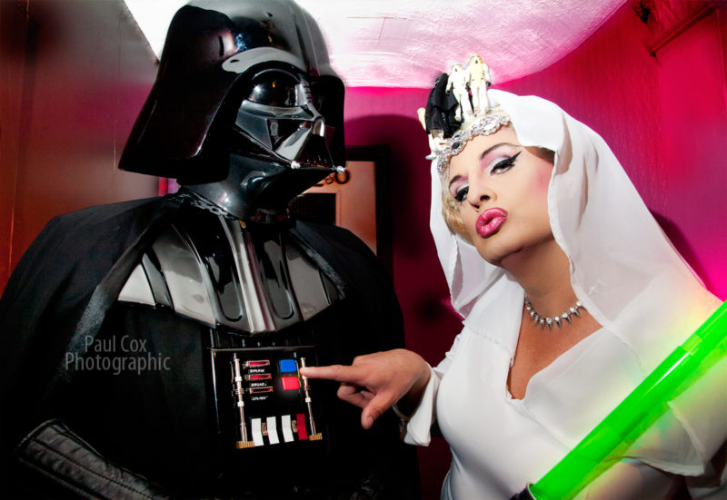 Stephanie Starlet T-Girl & Star Wars Darth Vader