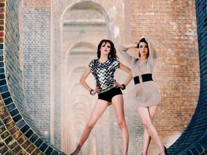 Balcombe Girls model test shoot