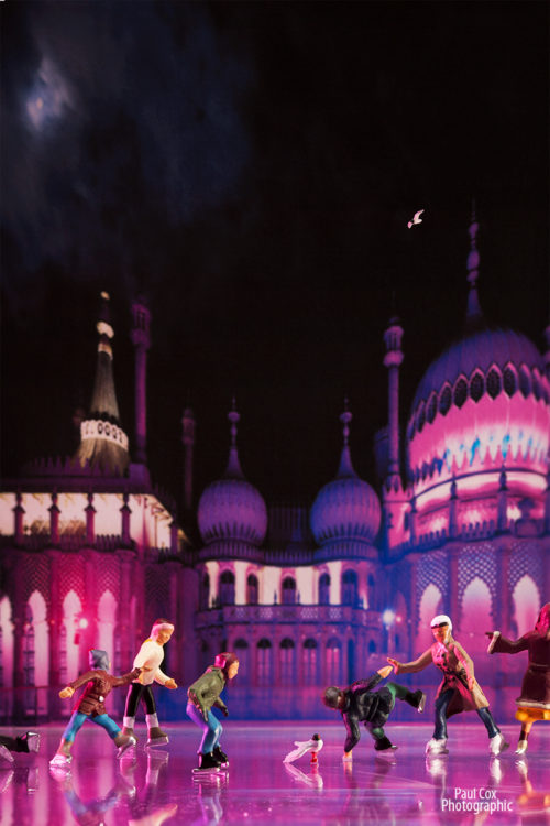 Brighton Pavilion Skaters