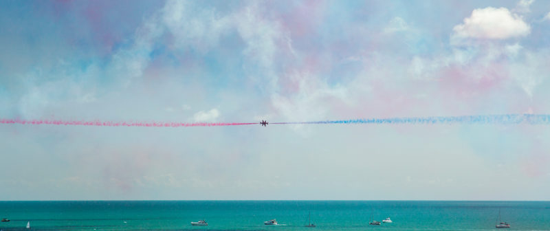 Eastbourne Airbourne Air Show Red Arrows