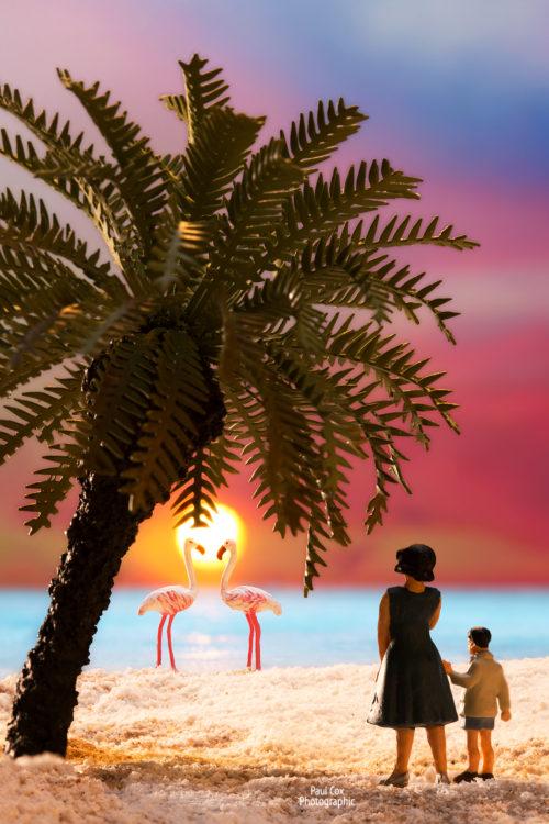 Diorama Paradise Beach