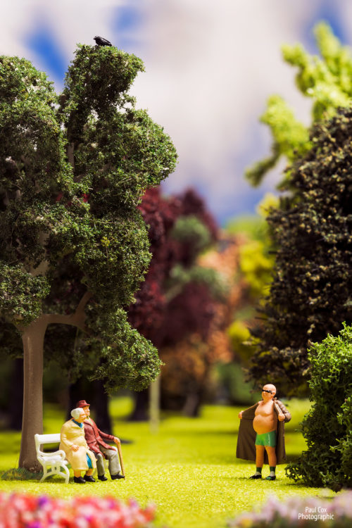 Diorama Park Flasher