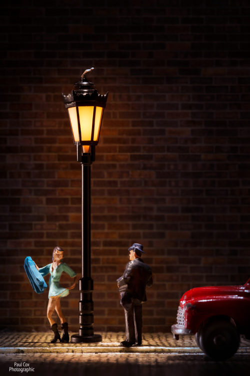 Diorama Street Light