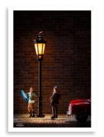 Lamppost Lady print