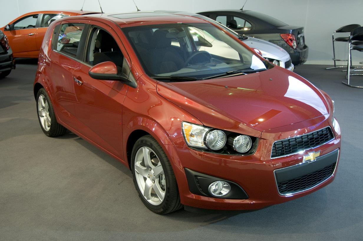Detroit 2011 Chevrolet Sonic