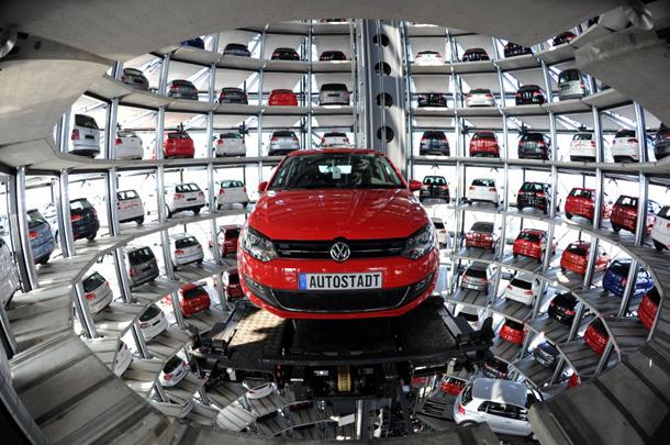 VW Wolfsburg Autotьrme