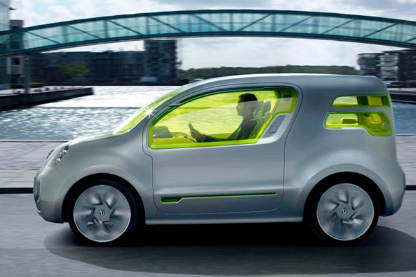 Renault Kangoo Van Z.E. review 2012