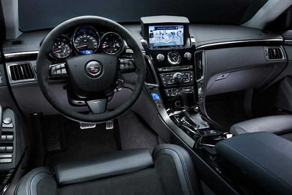 Cadillac CTS-V review 2010