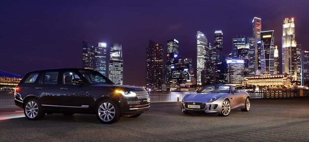 Jaguar Land-Rover Singapore.